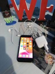 IPhone 7 128 gigas preto brilhante