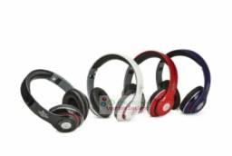 Fone De Ouvido Bluetooth Kp-414 Knup Com Microfone Rádio Fm Micro Sd Mp3  *