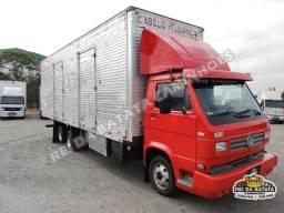Volkswagen 8-140 MWM Turbo 6X2 Truck Baú 8,50