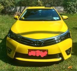 Táxi Corolla XEI 2.0 automático completo