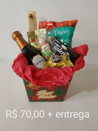Cachepô / cesta de Natal / fim de ano