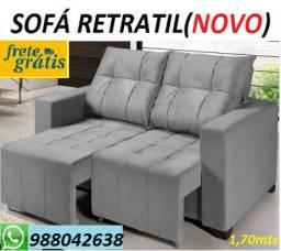 Super Promoção de Sofa Retratil Novo Ideal Para Ambientes Reduzidos!!