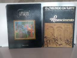 02 Livros de Arte,A Pintura no Brasil e o Mundo da Arte, Renascimento