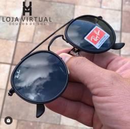 Óculos  de Sol / Rayban Round Double