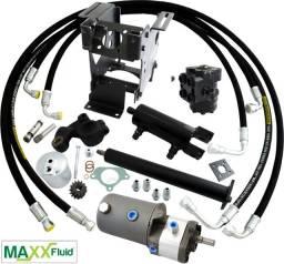 Kit direção hidrostática para trator Massey Ferguson 65x, 50x, 290, 275, 265