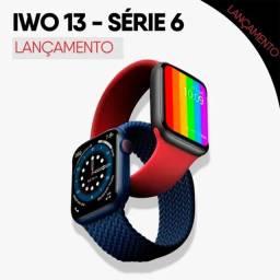 Smartwatch iwo 13 Notificações Troca Pulseira  Entrega Grátis Londrina