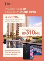 Condomínio Like Teresina Promoção 310 mil até 30 de novembro 2020 e Ganhe um IPhone 11