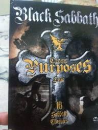 Dvd Black sabbath ,com o show Cross porpouse