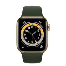 Apple Watch Serie 6 GPS + Cellular 44m aço Inoxidável