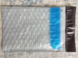 Saco Plástico bolha com bolsa 14x18cm