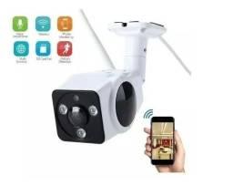 Camera Wifi Instalada, Full HD, metal lente 360 graus, acesso remoto, 1 ano de garantia
