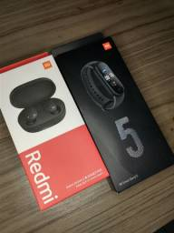 MI BAND 5 + REDMI AIR DOTS 2