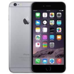 iPhone 6 64G, cinza, Espacial. Usado .
