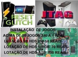 Só para Xbox360 com RGH