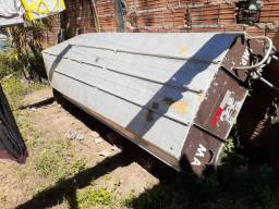 Canoa de alumínio 5 metros