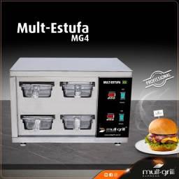 Mantenedor de Proteinas - Mult-Estufa MG4 da Mult-Grill Express do Brasil®