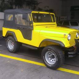 Jeep cj5 4x4 6cc 72/72 impecável