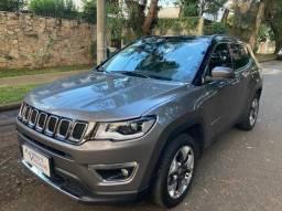 Jeep Compass Limited Aut 41.000 km Ún.dona 2017 Top de linha!