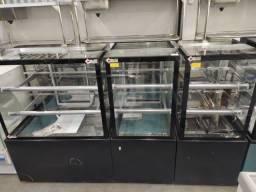 vitrines para padaria New Titanium pronta entrega *douglas