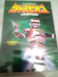 Dvd's O Fantástico Jaspion Volumes 1 e 2