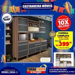 Cozinha Completa Nesher 5 peças, 10x  de R$ 399,90, sem Juros!!
