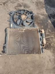 Radiador condensador ventoinha