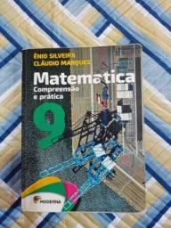 Livro de Matemática com caderno 9 ano