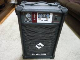 Caixa de Som Amplificada Multiuso LL Audio - LL 100 - Seminova
