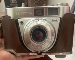 Maquina fotográfica antiga Kodak Retinette I-A made in Germany