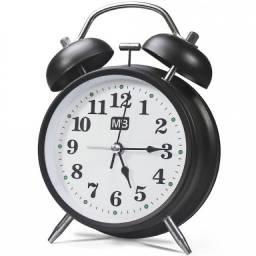 (WhatsApp) relógio despertador retrô com iluminação - mb house - ly87065