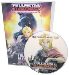 Box Dvd Full Metal Alchemist Brotherhood Dublado + Filme