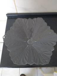 Fruteira de vidro + prato de microondas