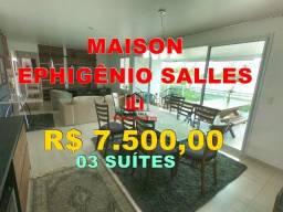 Apartamento no Maison Ephigênio Salles 03 Suítes 100% Mobiliado