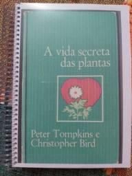 "Livro raro ""A vida secreta das plantas"""