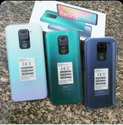 Título do anúncio: Redmi Note 9 128gb 4gb Ram Midnight Grey azul escuro global original *