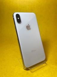 iPhone X 64Gb Silver Seminovo