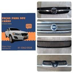Título do anúncio: Grade Meriva Peugeot Fox Gol Palio Celta Clio Vários modelos e marcas