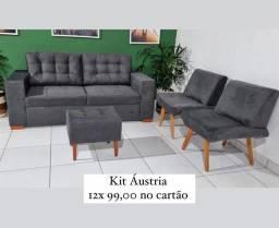 Título do anúncio: Kit sofás 1 ano de garantia *