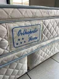 cama box queen size - semi nova - Maxflex - entrego