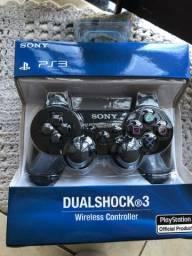 CONTROLES PS3 NOVOS!!