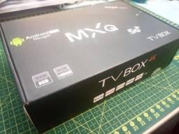 Título do anúncio: Tv box MXQ 5G de 8Gb de RAM e 128Gb de ROM