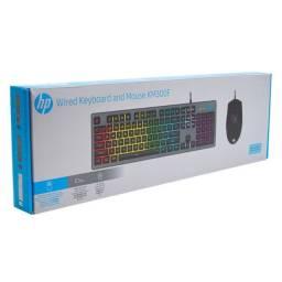 Teclado E Mouse Gamers HP - Km300f