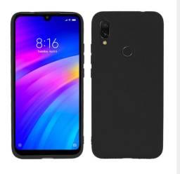 Case / Capinha de Silicone Xiaomi Mi 7 (Aceito cartão)