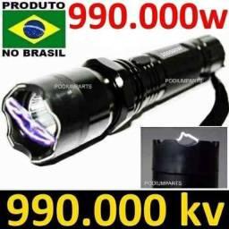 Lanterna De -cho-que- led para Def-esa Pessoal Com Laser