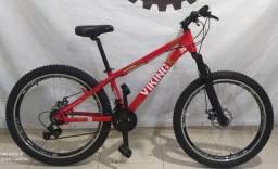 Título do anúncio: Bicicleta Viking Vermelha TUFF 30