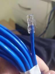Cabo de rede - internet