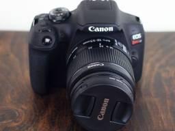 Câmera Canon T7 + Lente 18-55