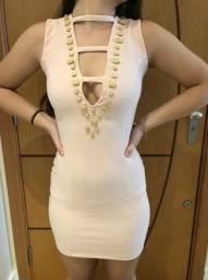 vestido Purpurina