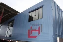 Casa em container 30m² podendo ser 01 ou 02 quartos