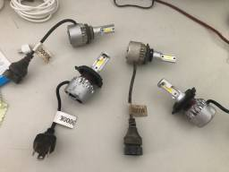 LED H4 e HB4 (9006) 3000k / 12000 lumens